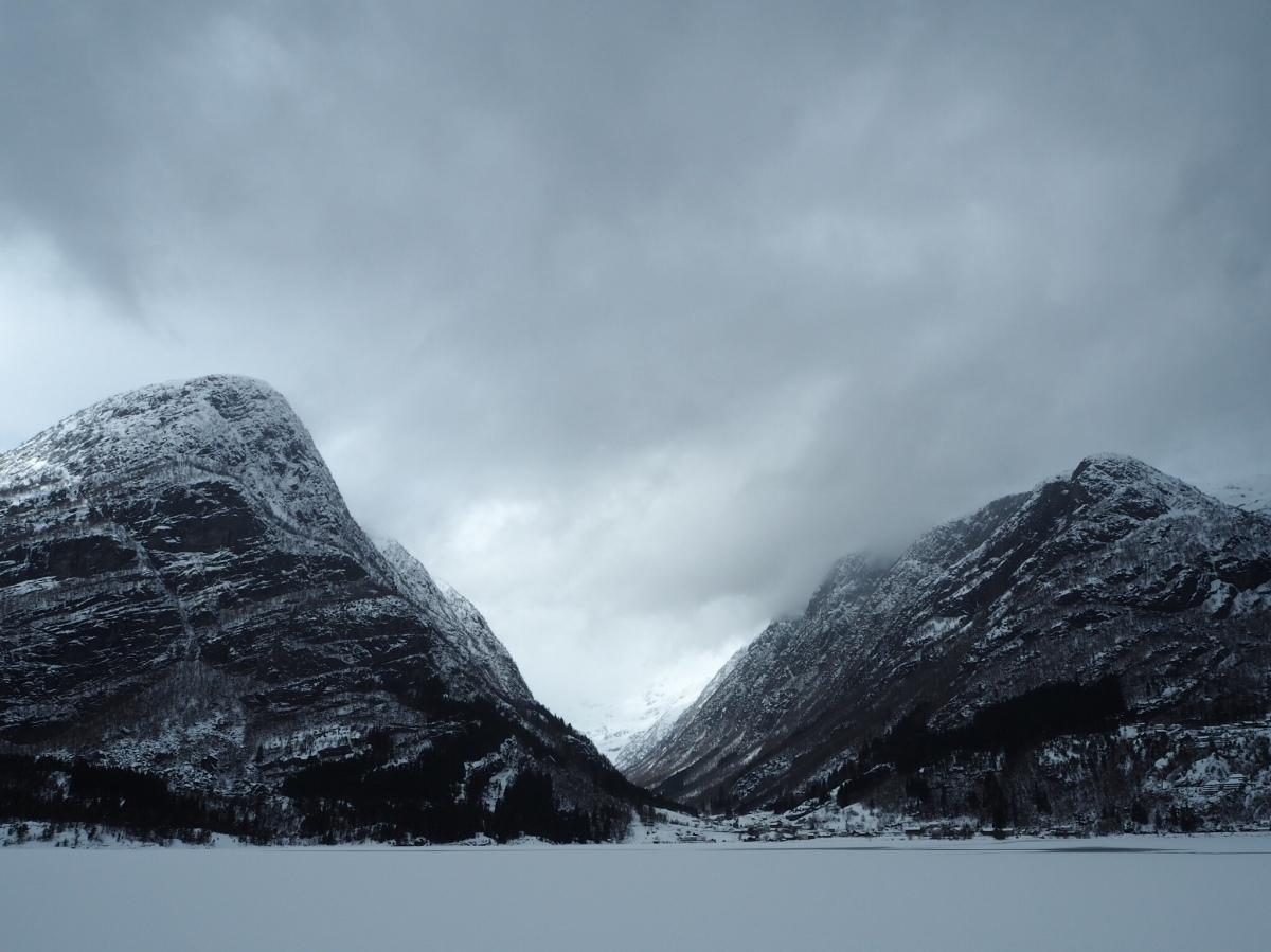 Norway, Hardangerfjord &Folgefonna