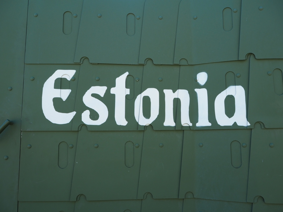 Estonia, Tallinn 💙🖤